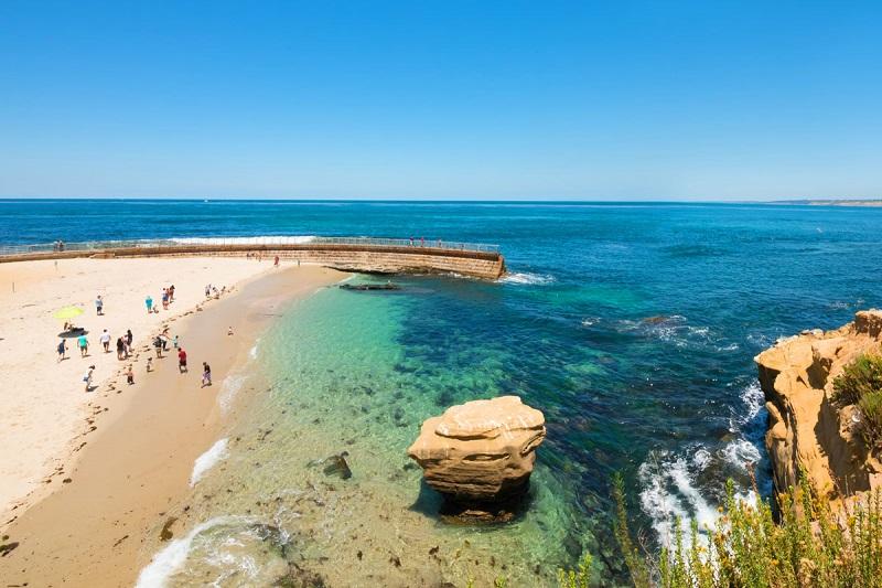 Praia La Jollaem San Diego