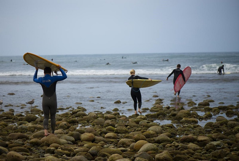 Surfe na San Onofre State Park