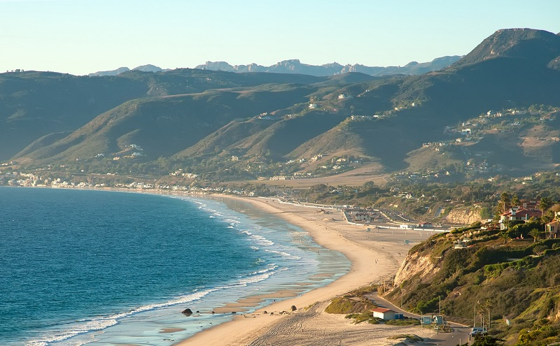 Zuma Beach em Malibu - Los Angeles