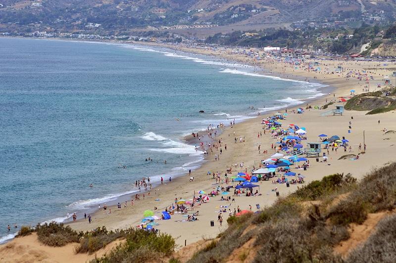 Zuma Beach em Malibu