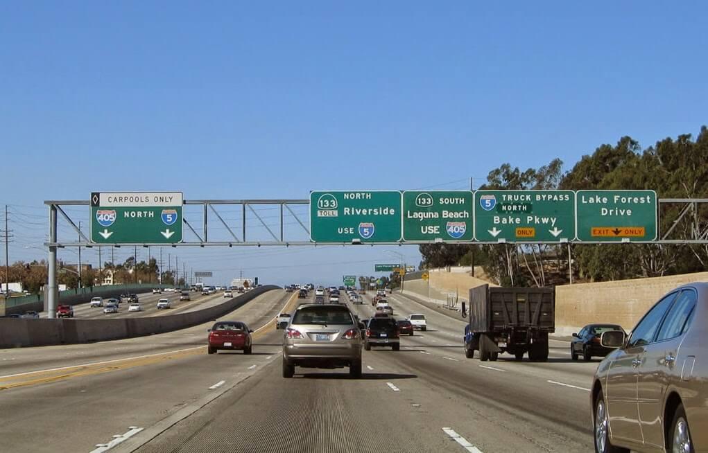Aluguel de carro na Califórnia