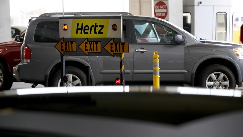 Alugar um carro com a empresa Hertz