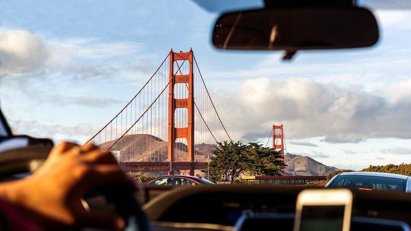 Carro em San Francisco - Califórnia