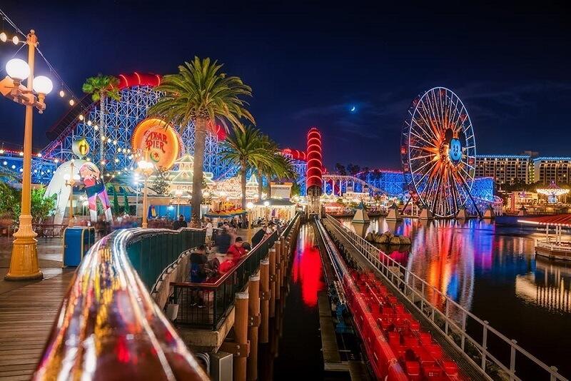 Parque de diversão Disneyland - Califórnia