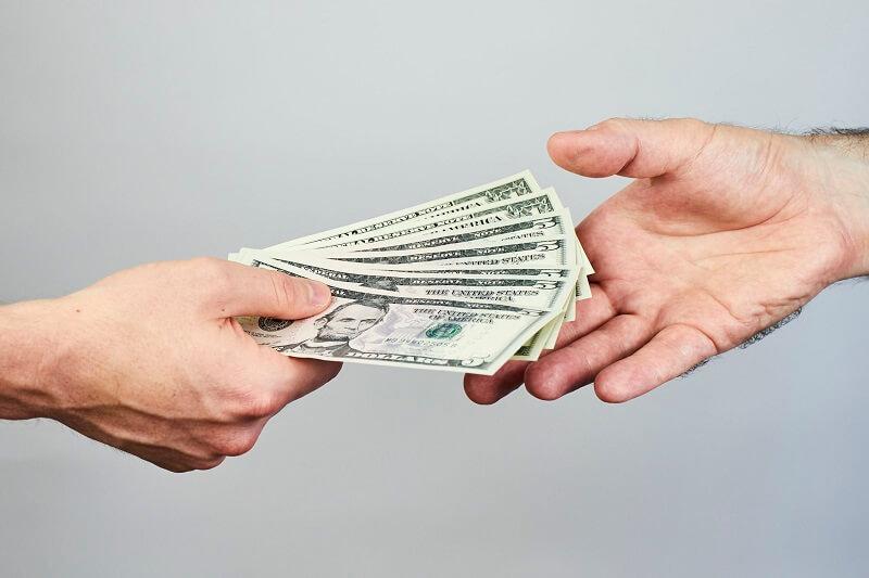Dólares em viagem