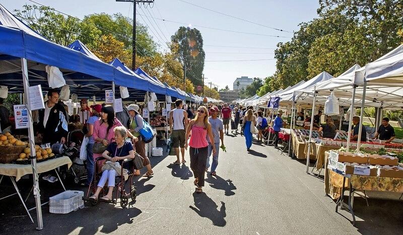 Farmer's Market em Los Angeles