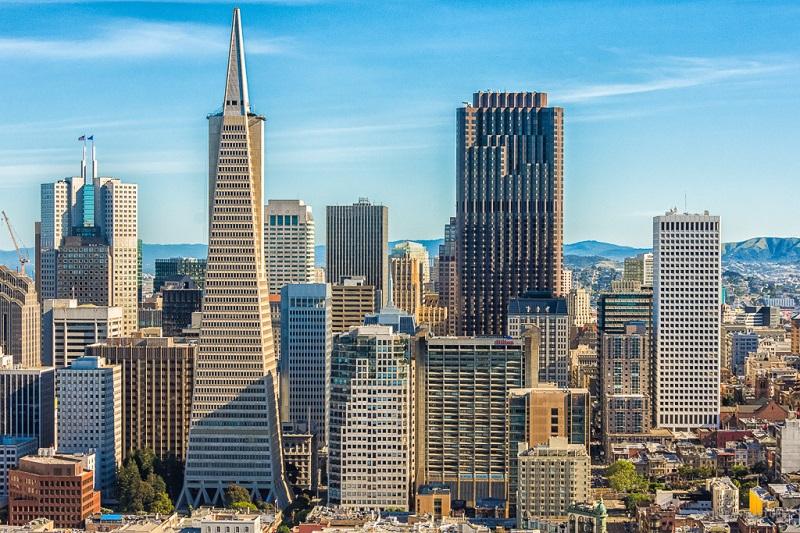 Região de Financial District em San Francisco