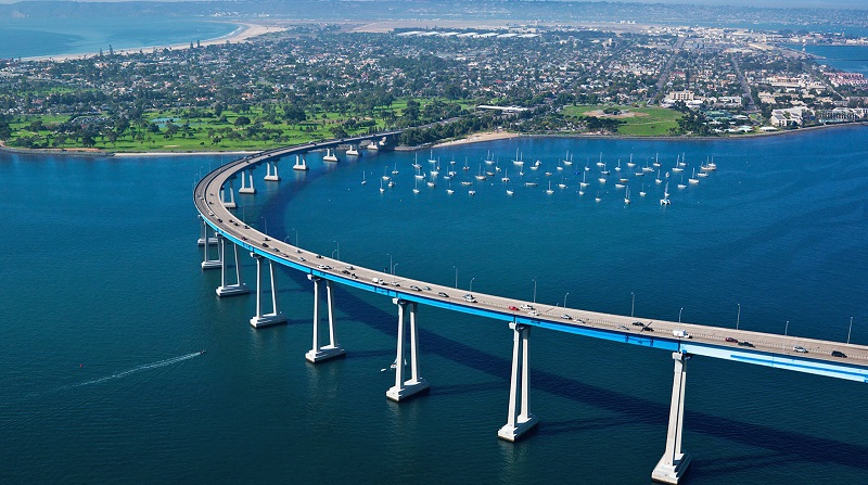 Ficar hospedado na Ilha de Coronado em San Diego