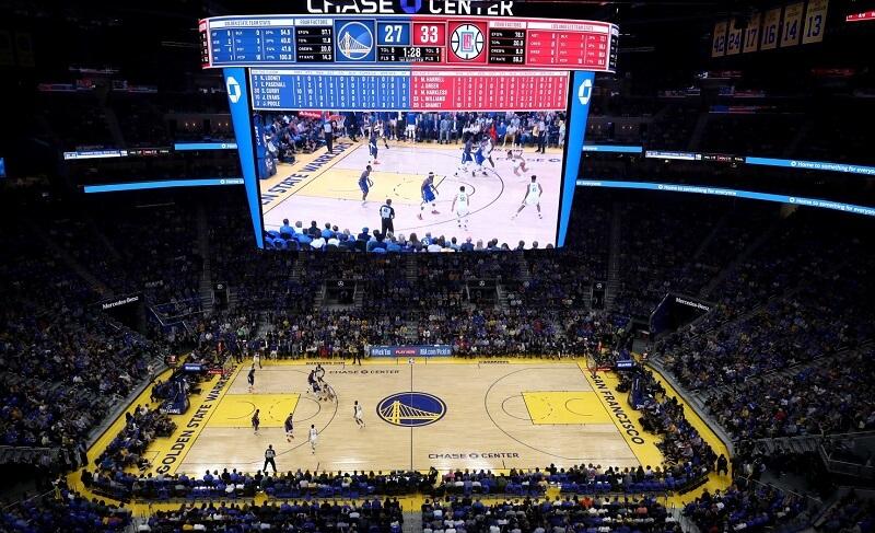 Jogo da NBA em San Francisco