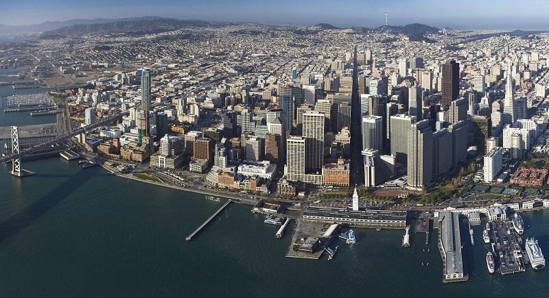 Panorâmica de San Francisco