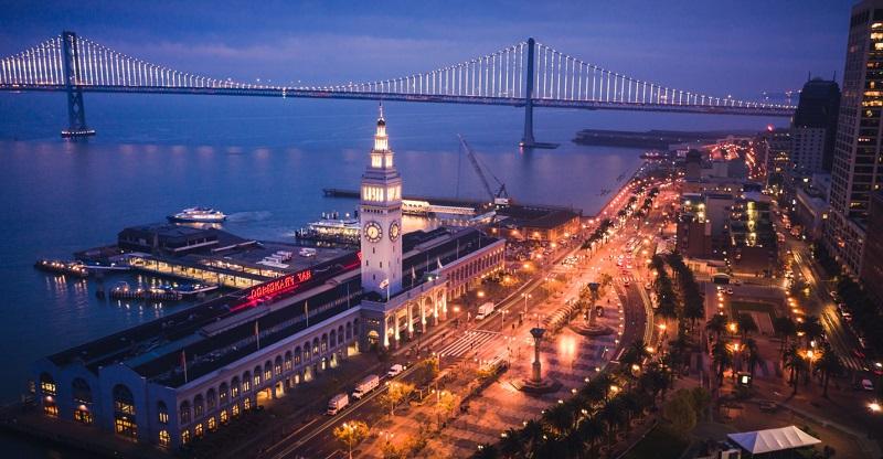 Região do Fisherman's Wharf em San Franscisco