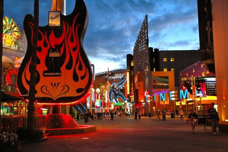 Universal CityWalk em Los Angeles