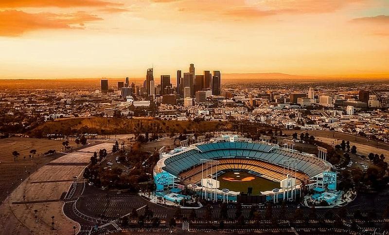 Pôr do sol em Los Angeles - Califórnia