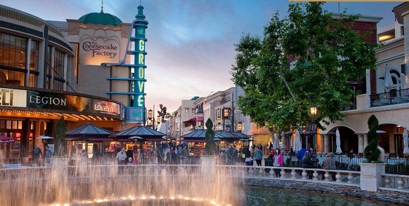Informações sobre o The Grove Mall Los Angeles
