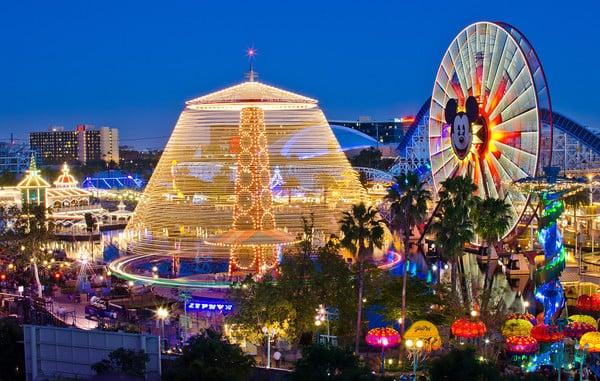 Parques de diversões na Califórnia