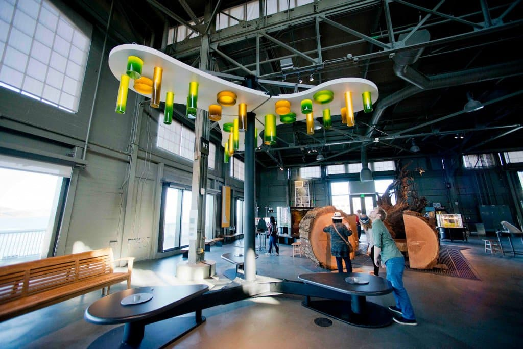 Museu Exploratorium em San Francisco