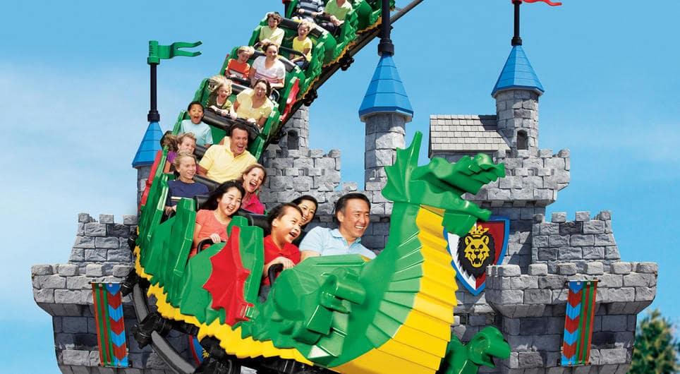 Parque Legoland Califórnia na Califórnia