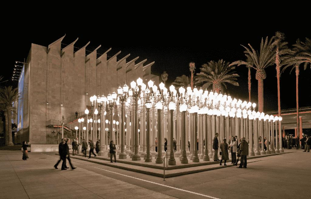 Museu Los Angeles County Museum of Art em Los Angeles