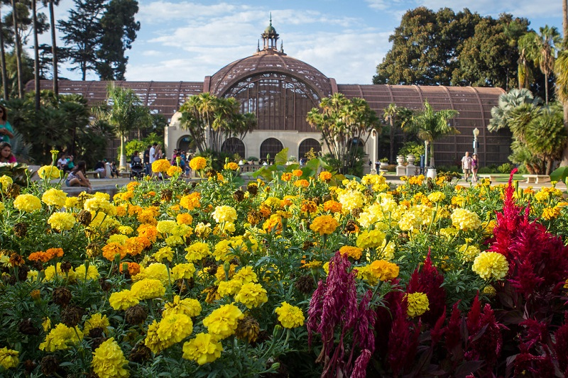 Botanical Building em San Diego