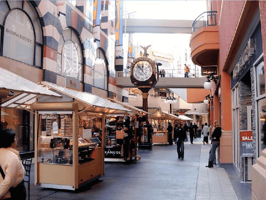 Shopping Westfield Horton Plaza em San Diego