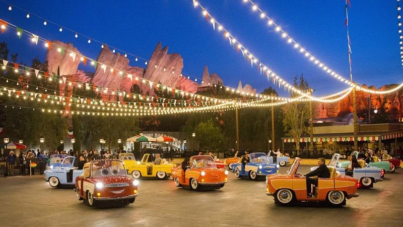 Cars Land - Disney California Adventure Park