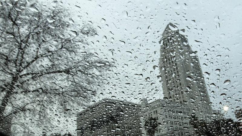 Chuva em Los Angeles