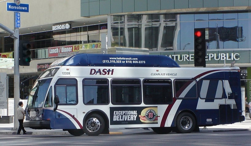 DASH - Linhas de ônibus de Los Angeles