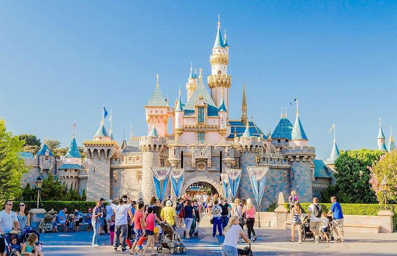 Parque Disneyland na Califórnia