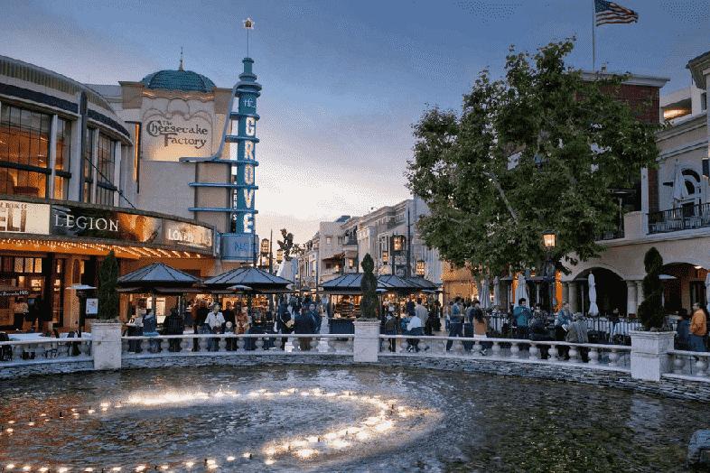 Shopping The Grove em Los Angeles