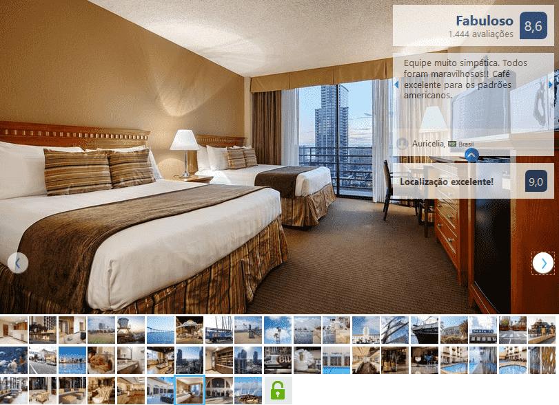 Hotel Best Western Plus Bayside Inn para ficar em San Diego