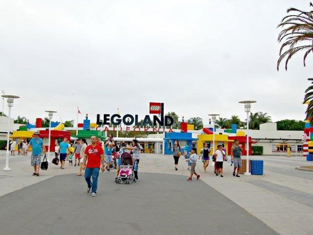 Parque da Lego na Legoland Califórnia