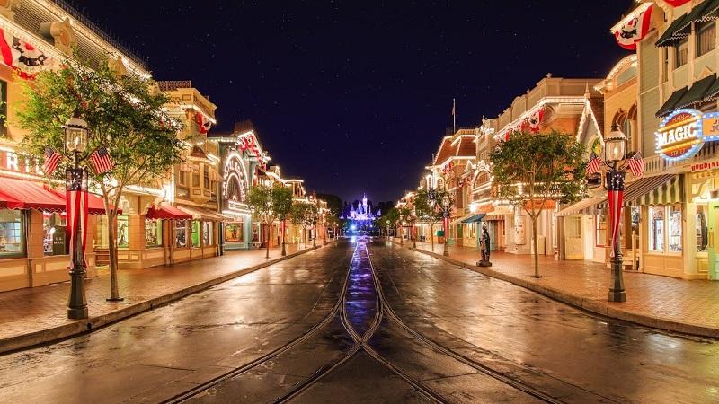 Main Street USA - Disneyland California