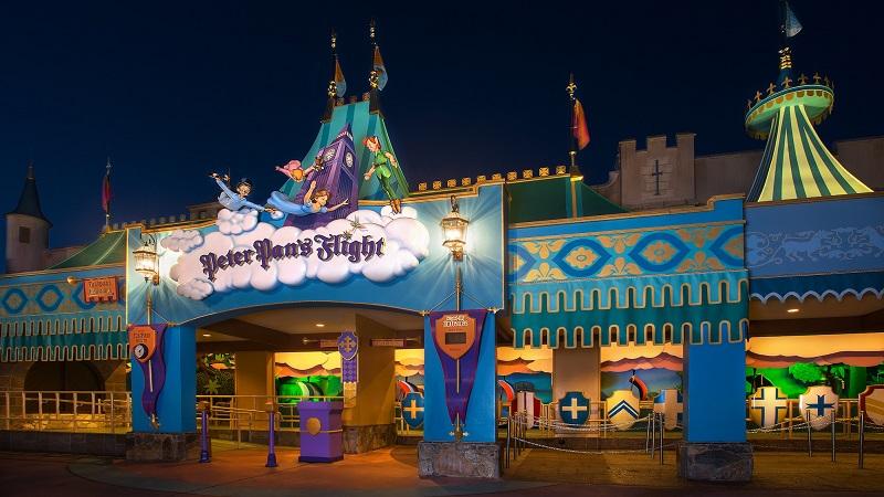 Fantasyland: Peter Pan's Flight