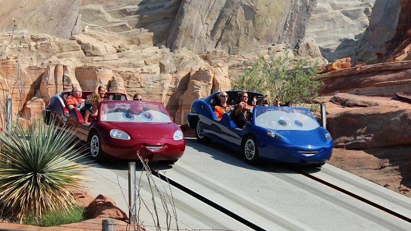 Radiator Springs Racer: Disney Adventure California Park