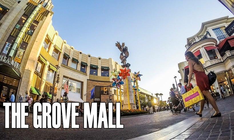 The Grove Mall em Los Angeles