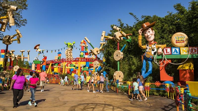 Toy Story - Disney California Adventure Park