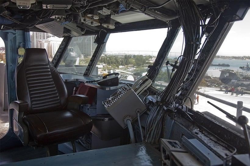 Informações do USS Midway Museum em San Diego