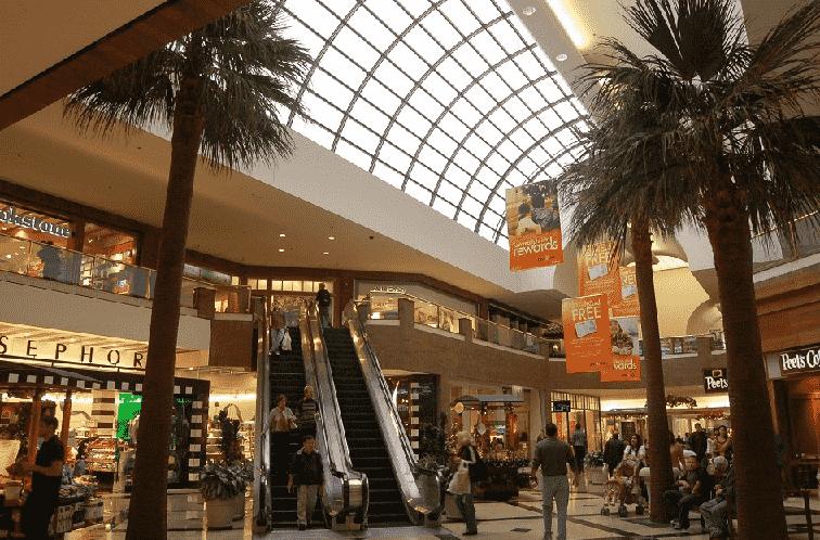 Shopping Glendale Galleria em Los Angeles