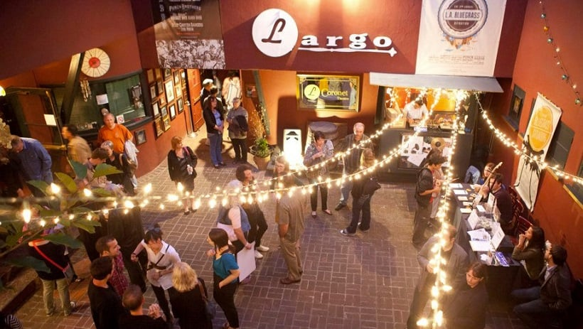 Night no Largo At Coronet em Los Angeles