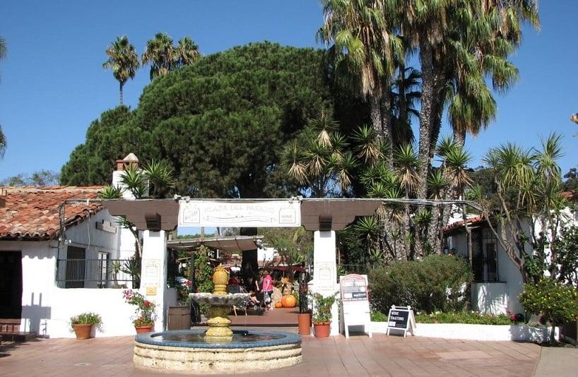 Informações sobre o Plaza Del Pasado em San Diego