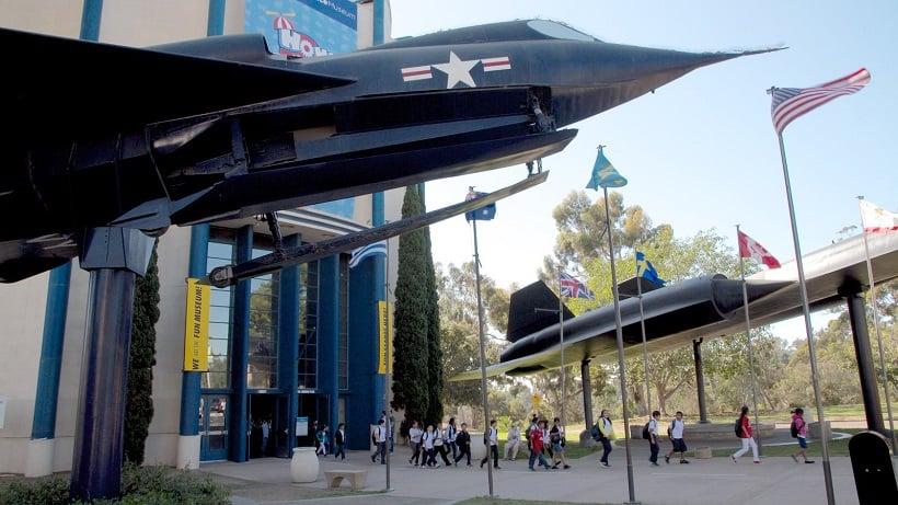 Informações sobre o Museu San Diego Air Space em San Diego