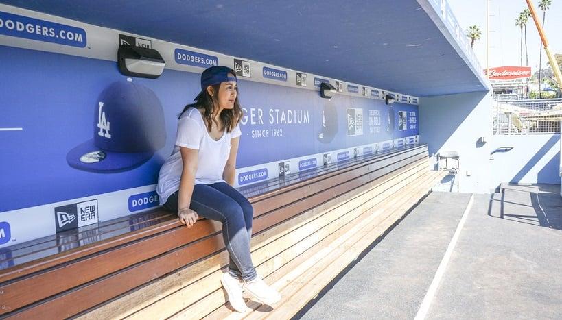 Passeio pelo Dodger Stadium em Los Angeles
