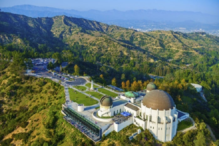 Griffith Park em Los Angeles na Califórnia