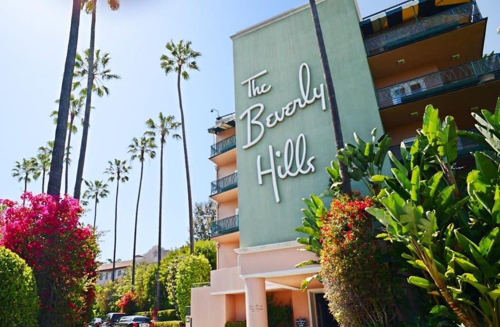 Beverly Hills Hotel em Los Angeles