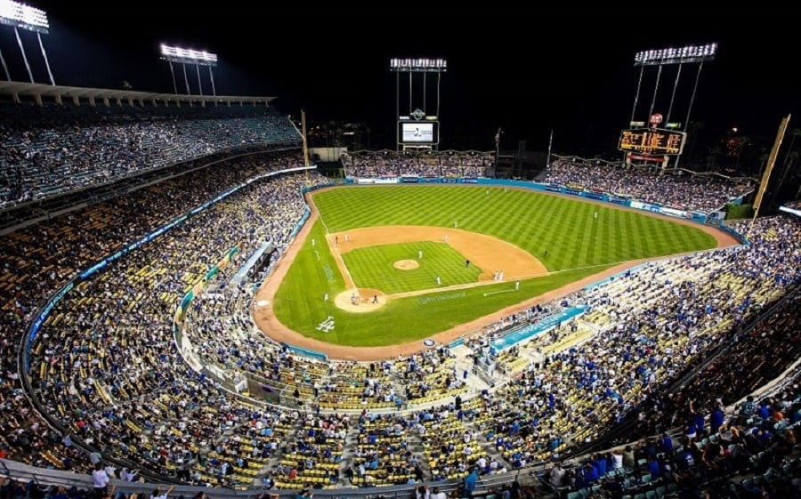 Dodger Stadium em Los Angeles