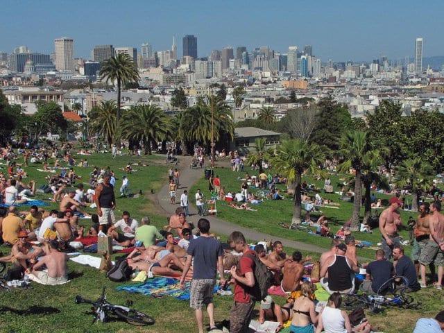 Dolores Park em San Francisco