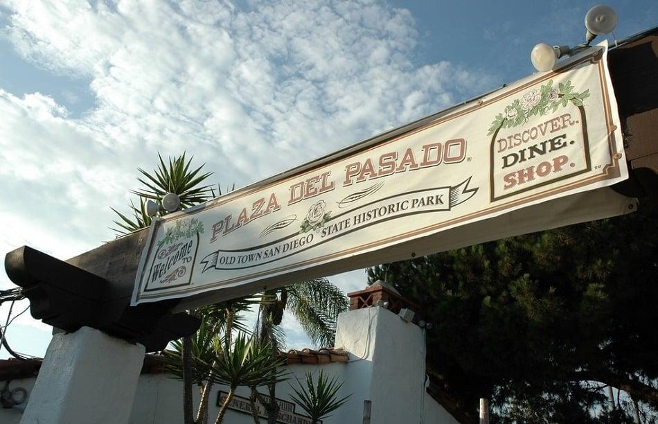 Plaza del Pasado em San Diego