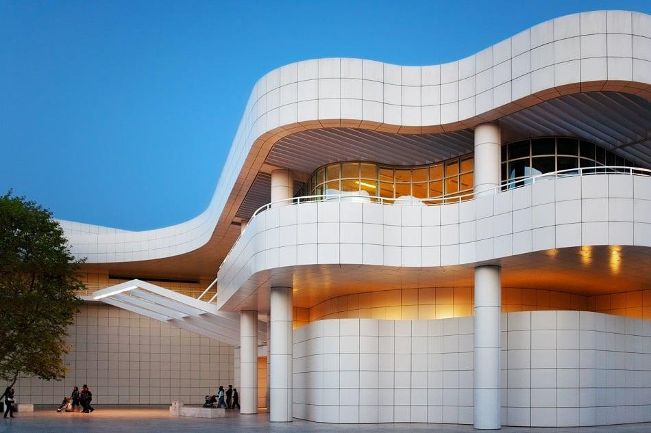 Acervo do Getty Center Museu em Los Angeles