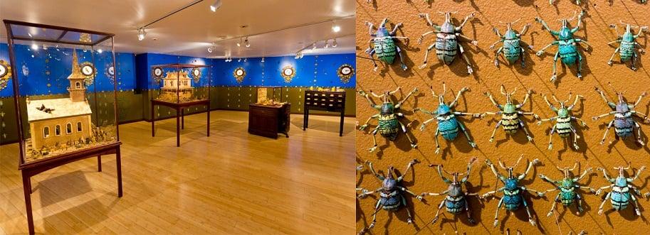 Interior do Craft and Folk Art Museum