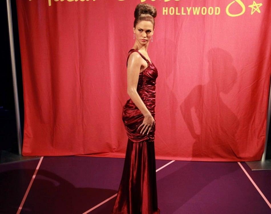 Bonecos de cera do Madame Tussauds Hollywood